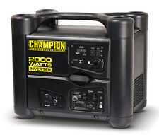 New CARB Champion 2000 watt Gas Portable Gasoline Generator Inverter Super Quiet