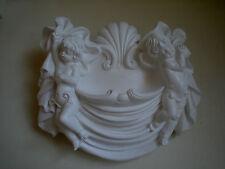 Decorativo CHERUB FIRE-luogo MOULDING * BIANCO GESSO *