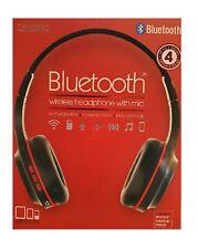 Bluetooth Wireless Headphone Red/Black Free Shipping