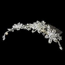 Side Comb #3826 Elegant Crystal Couture Bridal