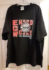Vintage ECW Hardcore Movement Wrestling T-Shirt XXL WWE WCW AEW