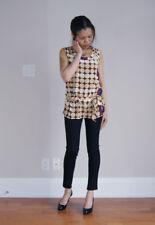 Marni x H&M polka dot 100% silk sleeveless top size 4 USA/ 6-8 UK