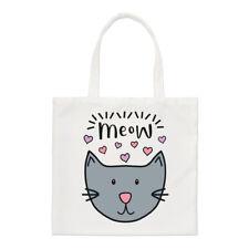 Meow Luna Chat PETIT SAC FOURRE-TOUT - drôle fou chat femmes Chaton épaule