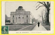 cpa Château de Bagatelle Pub WESTINGHOUSE COOPER HEWITT rue du Pont à SURESNES