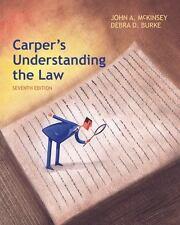 Carper's Understanding the Law by McKinsey, John A.; Burke, Debra