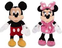 Disney Mickey & Minnie Mouse Clásico Mini Bean Bolsa Peluche Muñecas Lote