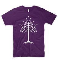 Tree of Gondor T Shirt The Lord of the Rings Hobbit Saruman Gandalf Frodo LOTR