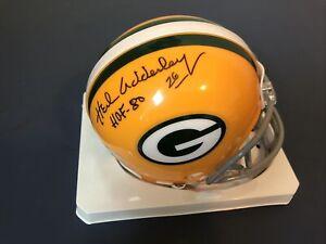 Herb Adderley #26 HOF SuperBowl 1&2 Packers Cowboys Mini Helmet TriStar AUTO 🧀