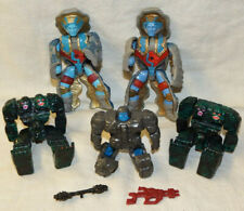 ROCK LORDS - LOT OF 5 TRANSFORMERS AND 2 WEAPONS