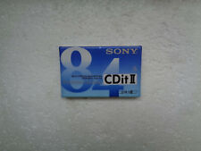 Vintage Audio Cassette SONY Super CDit II 84 * Rare From France 1993 *