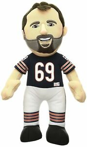 "NFL Chicago Bears Jared Allen Plush Figure, 10"" #69 Blue NWT"