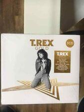 T.REX - GOLD 3CD BOXSET DIGIPAK (NEW & SEALED) 2018 RELEASE MARC BOLAN