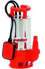 Grizzly Schmutzwasser Tauchpumpe TSP 1100 inox 1100 Watt, 20000 l/h