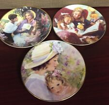 Avon Mother's Day Plates Set Of 3