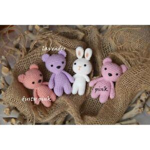 Newborn Baby Girls Boys Mini Teddies Prop Friend for Photo Prop Photography