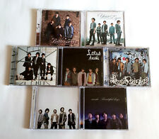 ARASHI lot of 7 Maxi CD Single with DVD JAPAN LIMITED EDITION Bittersweet Lotus