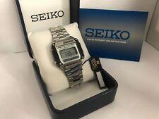 Seiko A628-5010 Sports100 Solar Chrono-Alarm Quartz LCD LED Watch