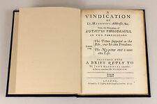 1650   'No-Power Over Man's Own Life'   rare INTERREGNUM era pamphlet   hammond
