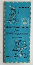 Brochure For Pennsylvania House Fine Colonial Furniture Bedrooms 60's