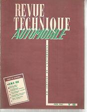 REVUE TECHNIQUE AUTOMOBILE 182 RTA 1961 BMC 850 MORRIS MINI MINOR & AUSTIN SEVEN