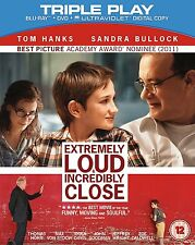 Blu Ray and DVD EXTREMELY LOUD & INCREDIBLY CLOSE. New sealed with slip cover.