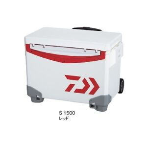 Daiwa Cool Line Carry 2 S1500 Red Cooler Box