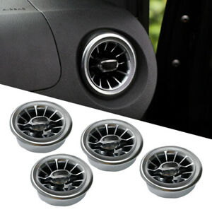 4x Turbo Style Air AC Vent Fit For Mercedes Benz V Class Viano Metris W447 ct