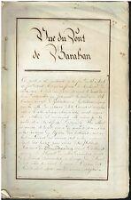 """RECUEIL de LITHOGRAVURES d'Amiens avec extrait """" du Glaneur """" vers 1838 HAUTOYE"""