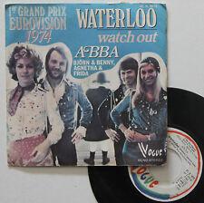 "Vinyle 45T Abba  ""Waterloo"""