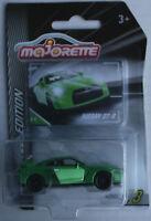 Majorette Limited Edition Nissan GTR grünchrom Neu/OVP Sportwagen Auto Car green