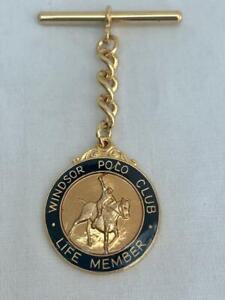 Windsor Polo Club Life Member Badge Number 248 By G.A.Miller