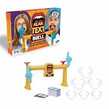 Hasbro Gaming E1917100 - Klartext Duell Partyspiel (Alter 8+)