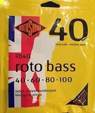 Rotosound  Rotobass RB40 Four String Set 40 - 100