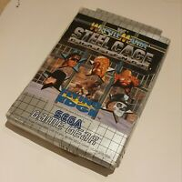 Game Gear Wrestlemania Steel Cage Boxed CIB. Rare game, collectable.