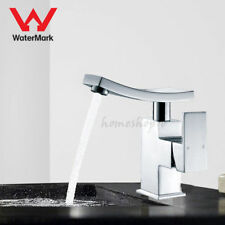 WELS Modern Bathroom Vanity Basin Mixer Tap W/ Swivel Spout Counter Deck Faucet