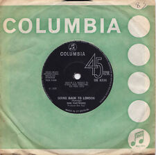 DON PARTRIDGE Going Back To London, Rosie UK Press Columbia DB 8330 1968 SP