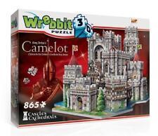 WREBBIT 3D JIGSAW PUZZLE KING ARTHUR'S CAMELOT 865 PC  #W3D-2016