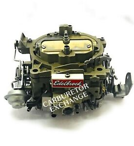 1901 Edelbrock Quadrajet Carburetor 750 CFM