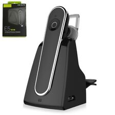 Carkit Handsfree Earphone Bluetooth 4.1 Driver Headset With Dock Charging Stand