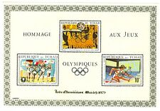 Tchad Olympische Spiele Olympic Games 1972 2 Special blocks with Overprint MNH