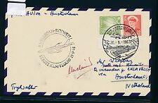 06618) KLM FF Amsterdam - Kuwait 25.9.63, Karte ab Grönland
