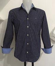 Eden Park L/S Bleu Marine Chemise à carreaux taille homme S neuf avec étiquettes