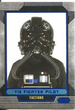 Star Wars Galactic Files Blue Parallel #337 TIE Fighter Pilot