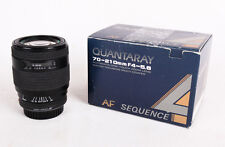 Quantaray AF F4-5.6, 70-210mm Lens for Minolta, Macro Focus Zoom Lens