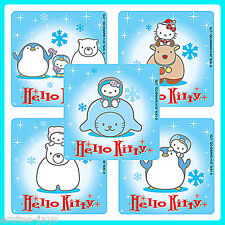 Hello Kitty Winter Stickers x 5 - Snowflakes - Party Favours - Penguin Birthday