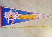 DEFUNCT Vintage 1994 Pioneer League Helena Brewers Baseball Pennant MiLB RARE!!!