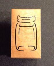 Great Impressions Glass Jar Rubber Stamp C38