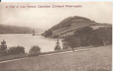 Postcard - A View of Lake Vyrnwy Llanwddyn Wales