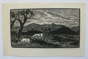 Hester Mary Holman (1899-1934), wood engraving and other engravings