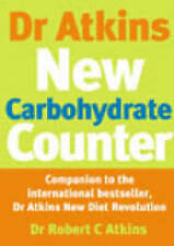 USED (GD) Dr Atkins Carbohydrate Counter by Robert C. Atkins